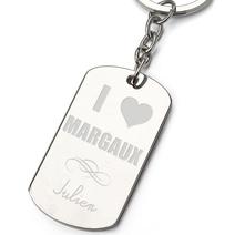 Porte-clés Amour St Valentin