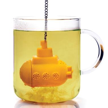 Boule à thé design sous-marin