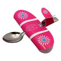 Cuillère Babyplane rose