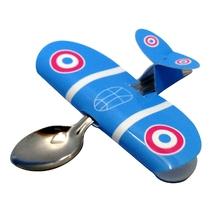 Cuillère Babyplane bleu