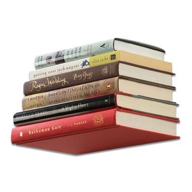 une tag re invisible pour vos livres. Black Bedroom Furniture Sets. Home Design Ideas