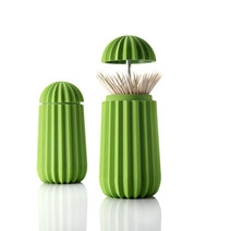 Porte cure-dents design cactus