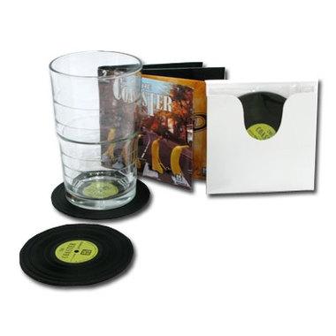 Dessous de verre design vinyles