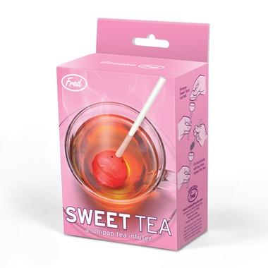 Boule à thé design sucette