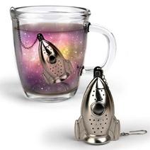 Boule à thé design fusée