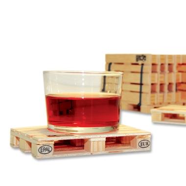 Dessous de verre design palette