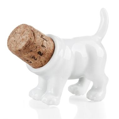 Bouchon de bouteille design chien