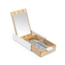Boîte à bijoux miroir design