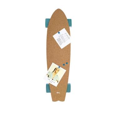 Panneau mémos design skateboard