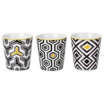 Lot de 3 gobelets design Eclektic