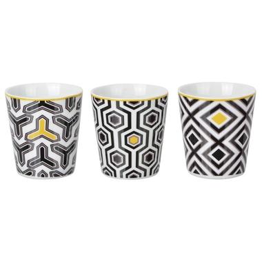 Lot de 3 gobelets design Eclektic