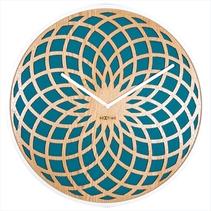 Horloge design rosace