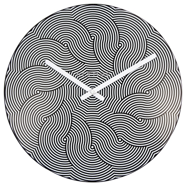Horloge design hypnotique