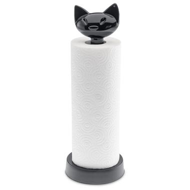 Porte essuie-tout design chat