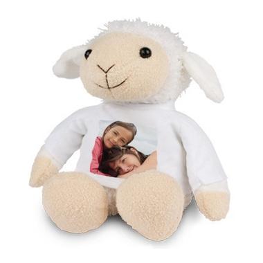 Peluche photo personnalisée mouton