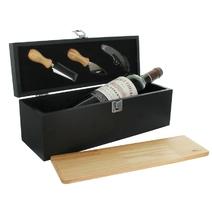 Caisse à vin et plateau fromages
