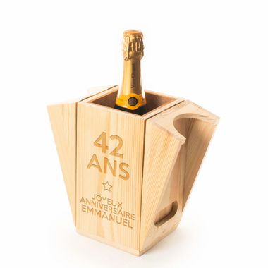 Coffret À champagne rafraîchissant