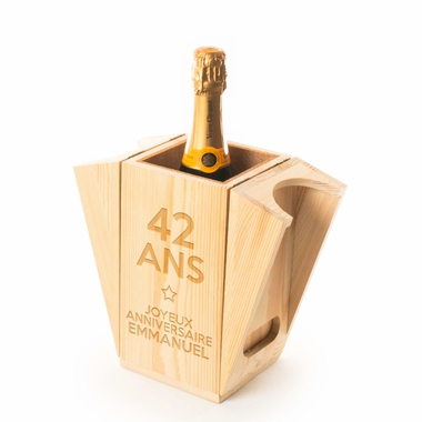 Coffret champagne rafraîchissant anniversaire