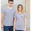 T shirt style marin prénom unisexe