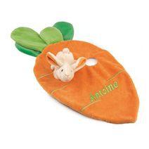 doudou carotte personnalisé