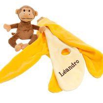 doudou carl le singe personnalisé