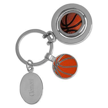 Porte-clés personnalisé ballon de basket