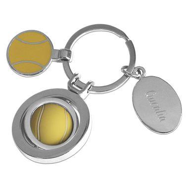 Porte-clés personnalisé balle de tennis