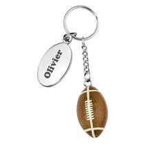 Porte-clés personnalisé ballon de rugby