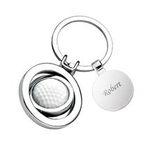 Porte-clés balle de golf médaille gravée