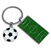 Porte-clés personnalisé terrain de foot