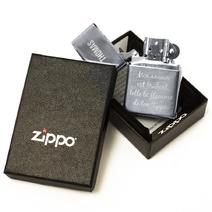 zippo prénom gravé texte libre