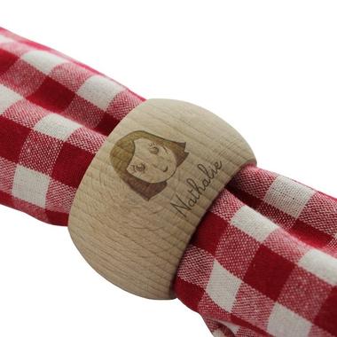 Rond de serviette my family