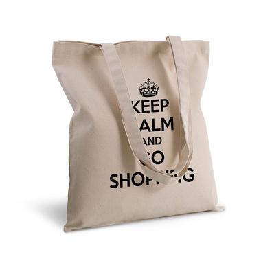 Tote bag 100% coton imprimé Keep Calm