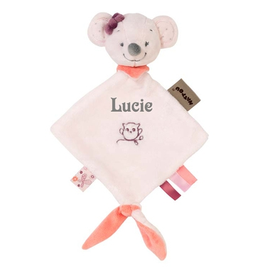 Mini doudou Nattou Valentine la souris