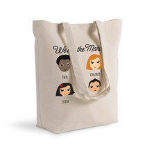 Tote bag We Are Family personnalisable