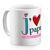 Mug j'aime mes parents