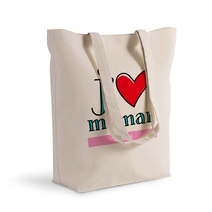 Tote bag j'aime mes parents