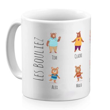 Mug My Family Bear