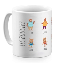 Mug My Family Bear