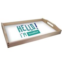 plateau personnalisé HELLO