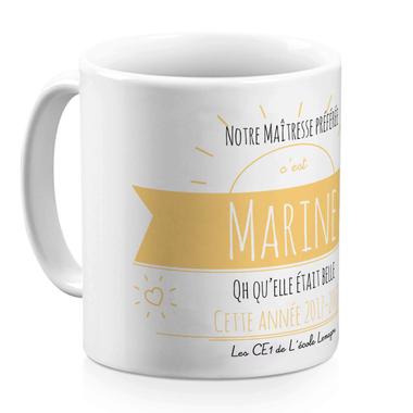 Mug Message Ensoleillé