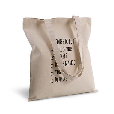 Tote Bag Check Liste