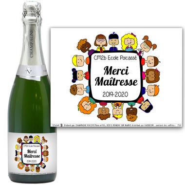 champagne merci maitresse