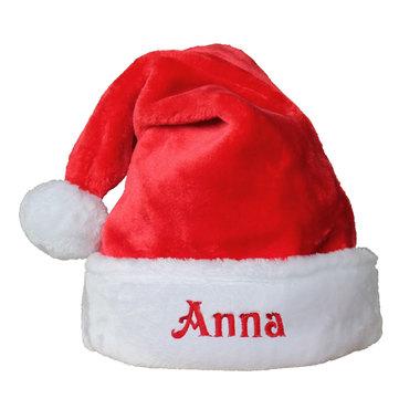 Bonnet de Noël enfant effet velours