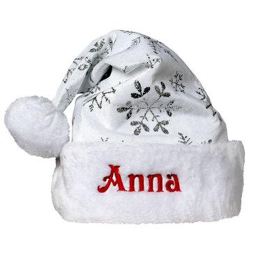 Bonnet de Noël velours et paillettes