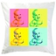 Coussin Pop Art 4 photos