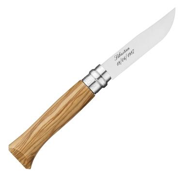Couteau Opinel n°8 personnalisé
