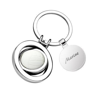 Porte-clés volley personnalisé