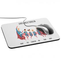 Tapis de souris Super Famille personnalisé