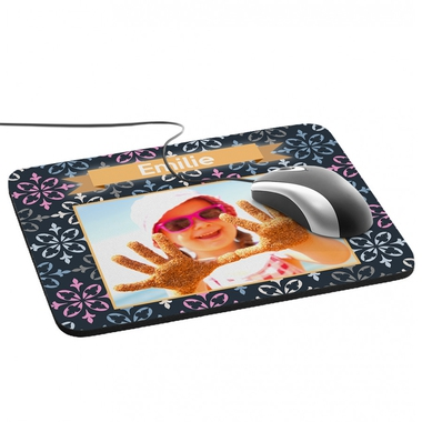 Tapis de souris photo personnalisé cadre princier